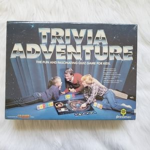 Vintage 1983 Trivia Adventure Game! New